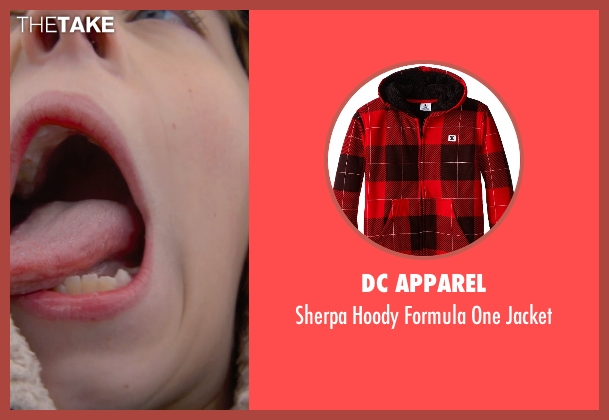 DC Apparel red jacket from The Visit seen with Ed Oxenbould (Unknown Character)