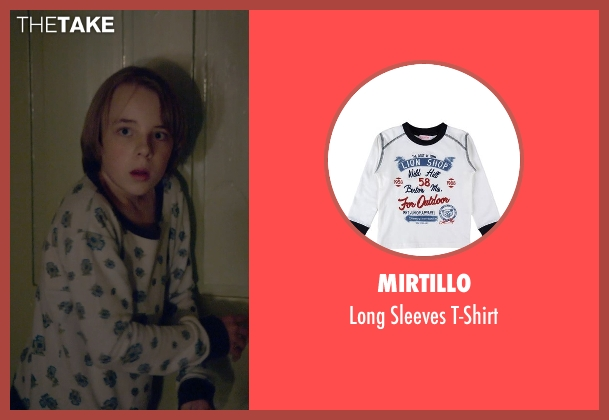 Mirtillo white t-shirt from The Visit seen with Ed Oxenbould (Unknown Character)