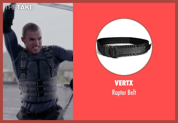 Vertx black belt from Deadpool seen with Ed Skrein (Ajax)