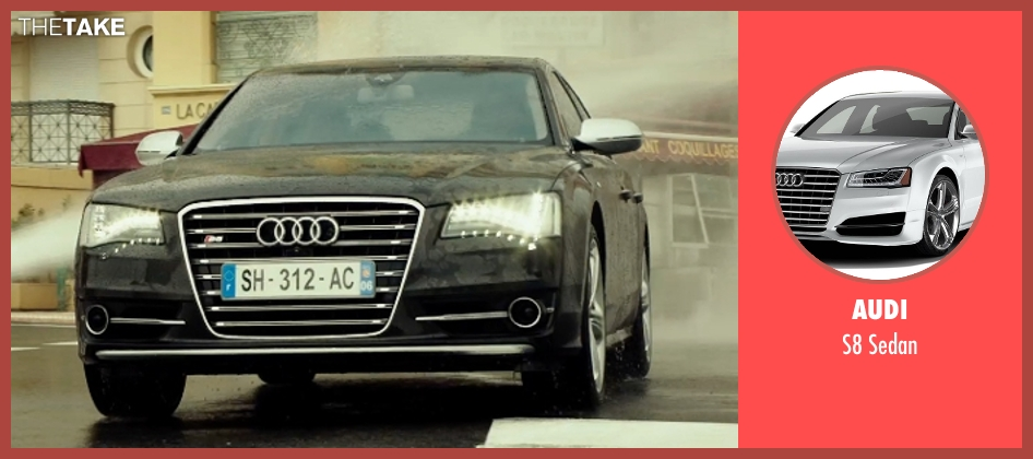 Audi sedan from The Transporter: Refueled seen with Ed Skrein (Frank Martin)