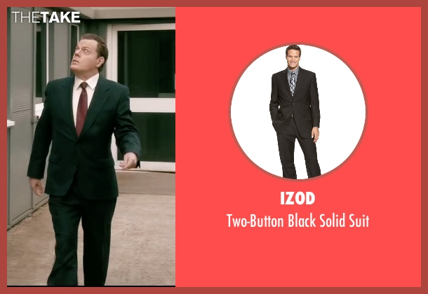 Izod black suit from Absolutely Anything seen with Eddie Izzard (Headmaster)
