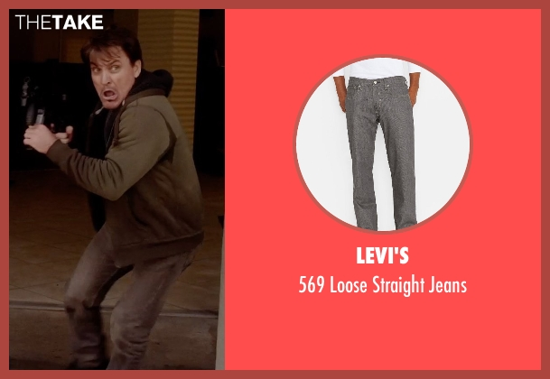 Levi's gray jeans from Vice seen with Eddie Matthews (Bozz)