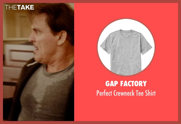 Gap Factory gray shirt from Vice seen with Eddie Matthews (Bozz)