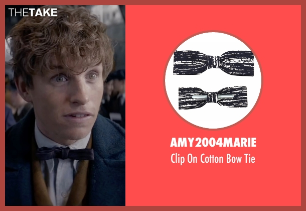 Amy2004marie blue tie from Fantastic Beasts and Where to Find Them seen with Eddie Redmayne (Newt Scamander)