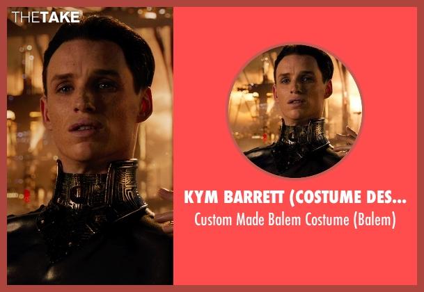 Kym Barrett (Costume Designer) costume from Jupiter Ascending seen with Eddie Redmayne (Balem)