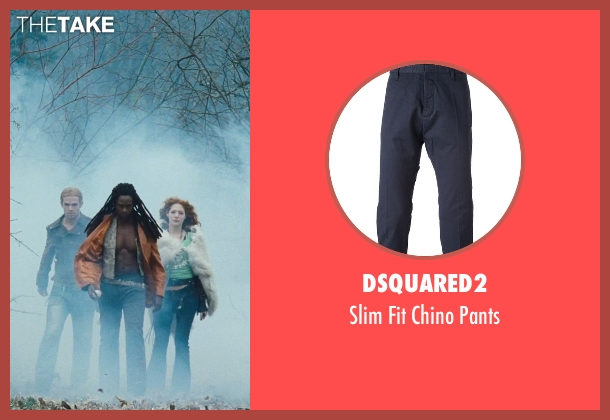 Dsquared2 blue pants from Twilight seen with Edi Gathegi (Laurent)
