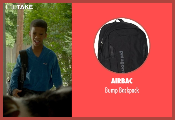 Airbac black backpack from Me and Earl and the Dying Girl seen with Edward DeBruce III (Young Earl)