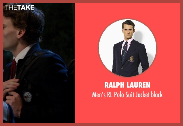 Ralph Lauren blue black from Vampire Academy seen with Edward Holcroft (Aaron)