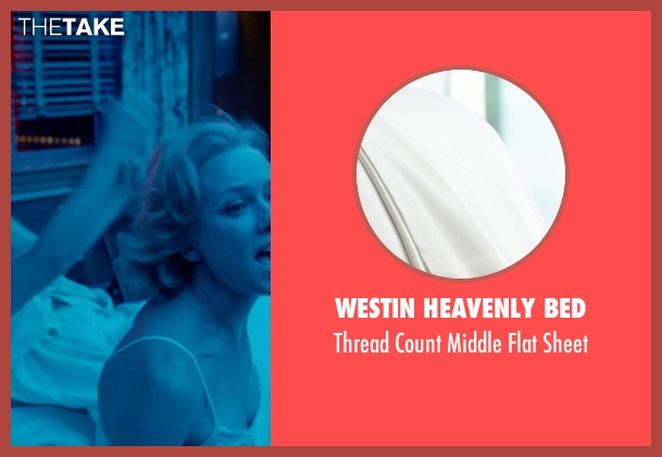 Westin Heavenly Bed white sheet from Birdman seen with Edward Norton (Mike)