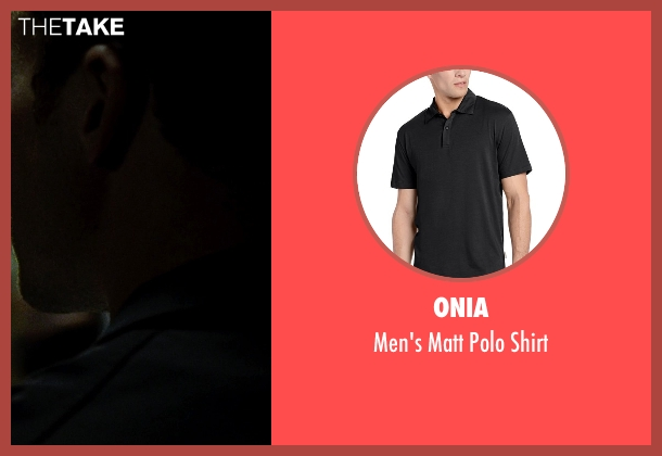 Onia black shirt from Fight Club seen with Edward Norton (The Narrator)
