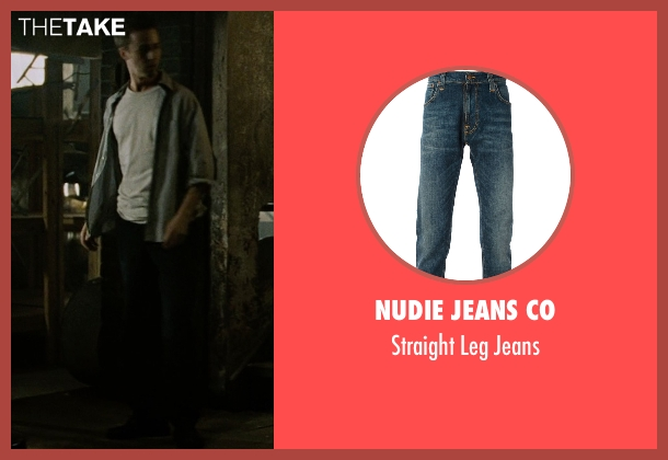 Nudie Jeans Co blue jeans from Fight Club seen with Edward Norton (The Narrator)
