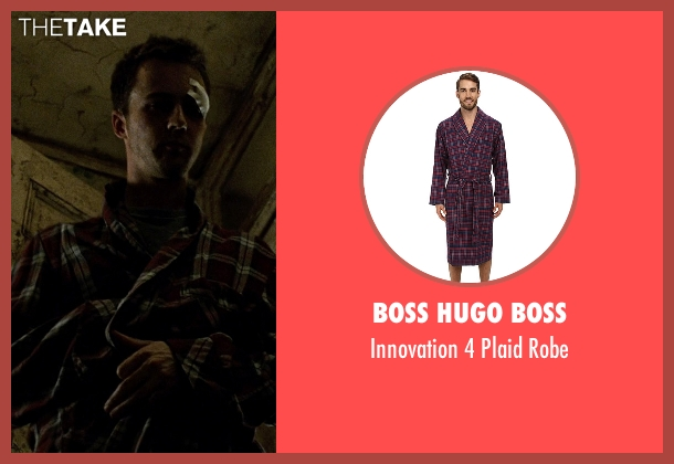 Boss Hugo Boss robe from Fight Club seen with Edward Norton (The Narrator)