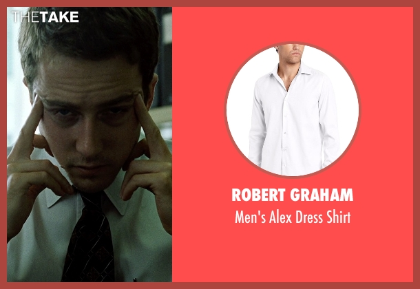 Robert Graham white shirt from Fight Club seen with Edward Norton (The Narrator)
