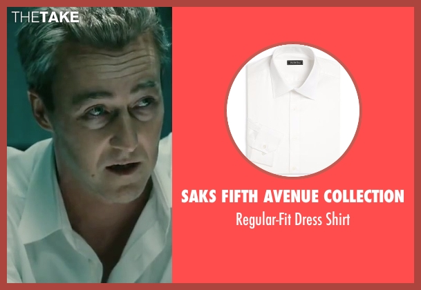 Saks Fifth Avenue Collection white shirt from The Bourne Legacy seen with Edward Norton (Col Eric Byer)