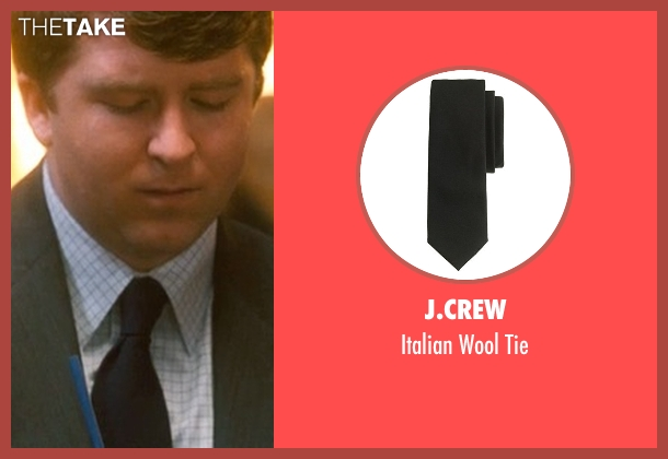 J.Crew black tie from Crazy, Stupid, Love. seen with Ehrin Marlow (Hannah's Colleague #4)
