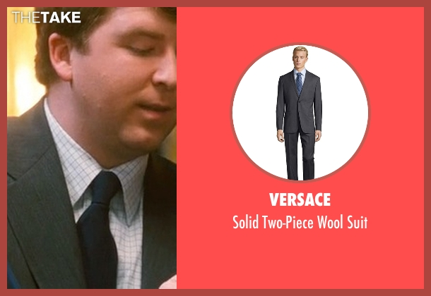 Versace gray suit from Crazy, Stupid, Love. seen with Ehrin Marlow (Hannah's Colleague #4)