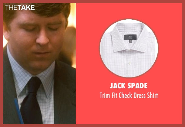 Jack Spade white shirt from Crazy, Stupid, Love. seen with Ehrin Marlow (Hannah's Colleague #4)