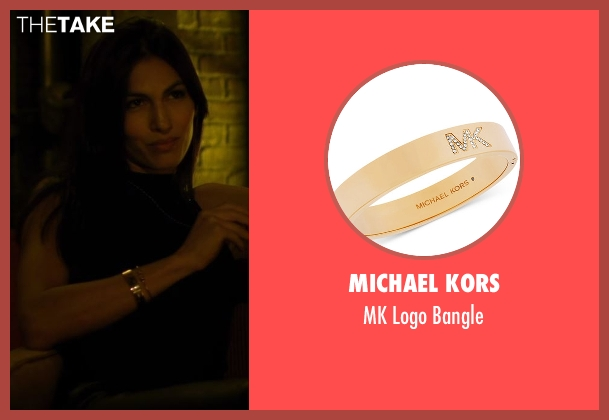 Michael Kors gold bangle from Daredevil seen with Elektra Natchios (Elodie Yung)