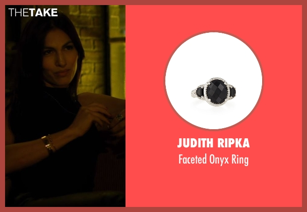 Judith Ripka silver ring from Daredevil seen with Elektra Natchios (Elodie Yung)