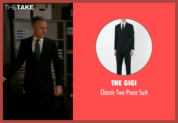 The Gigi black suit from The Good Wife seen with Eli Gold (Alan Cumming)