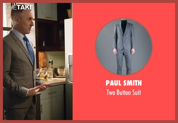 Paul Smith gray suit from The Good Wife seen with Eli Gold (Alan Cumming)