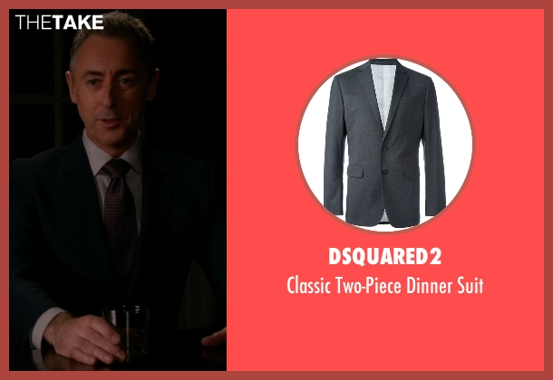 Dsquared2 gray suit from The Good Wife seen with Eli Gold (Alan Cumming)