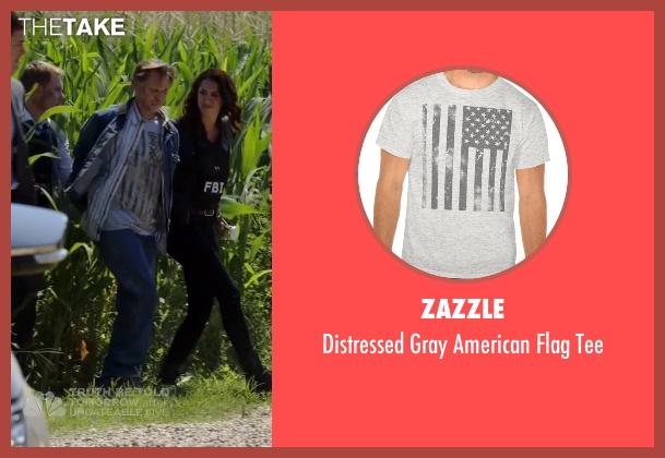 Zazzle gray tee from The Blacklist seen with Eli Matchett (Don Harvey)