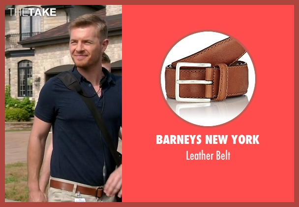 Barneys New York brown belt from Quantico seen with Elias Harper  (Rick Cosnett)