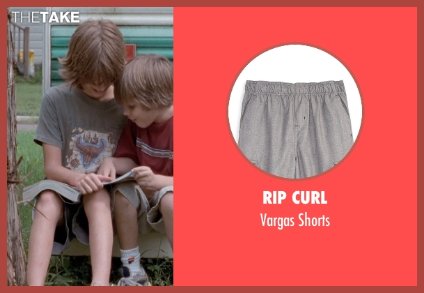 Rip Curl gray shorts from Boyhood seen with Elijah Smith (Tommy)