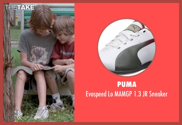 Puma white sneaker from Boyhood seen with Elijah Smith (Tommy)