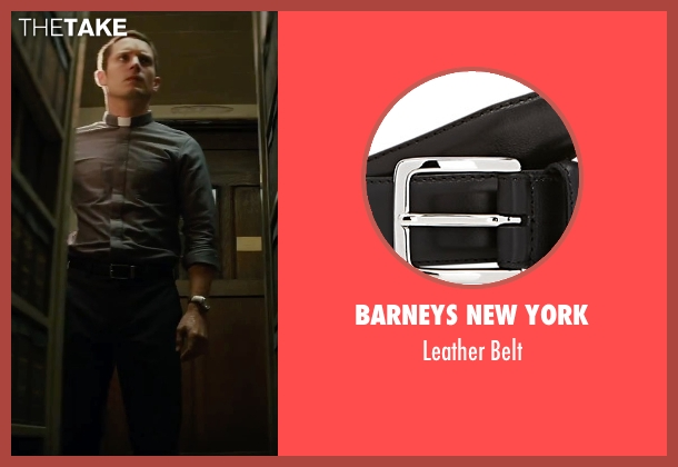 Barneys New York black belt from The Last Witch Hunter seen with Elijah Wood (Dolan)