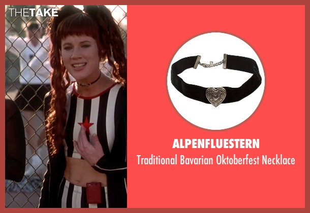 Alpenfluestern black necklace from Clueless seen with Elisa Donovan (Amber)
