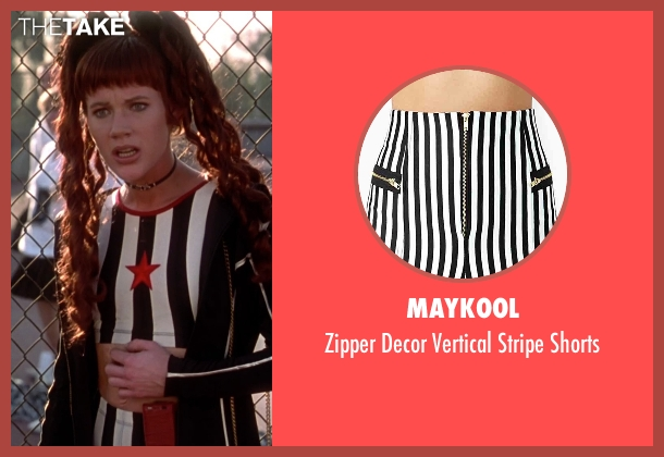 Maykool black shorts from Clueless seen with Elisa Donovan (Amber)