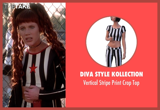 Diva Style Kollection black top from Clueless seen with Elisa Donovan (Amber)