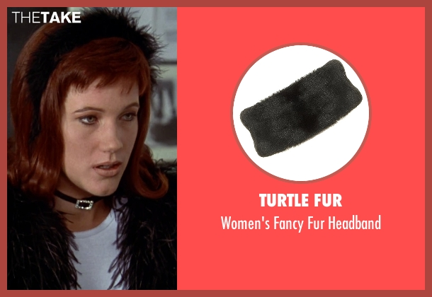 Turtle Fur headband from Clueless seen with Elisa Donovan (Amber)