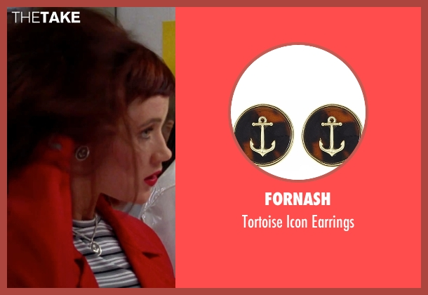 Fornash silver earrings from Clueless seen with Elisa Donovan (Amber)