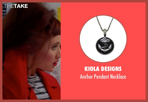 Kiola Designs silver necklace from Clueless seen with Elisa Donovan (Amber)