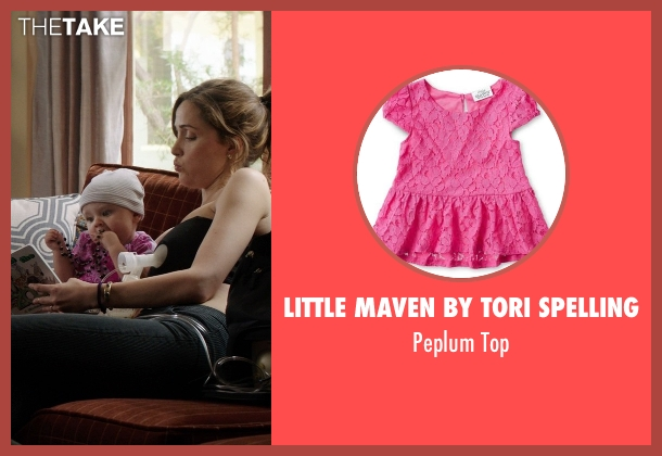 Little Maven by Tori Spelling top from Neighbors seen with Elise Vargas (Stella)