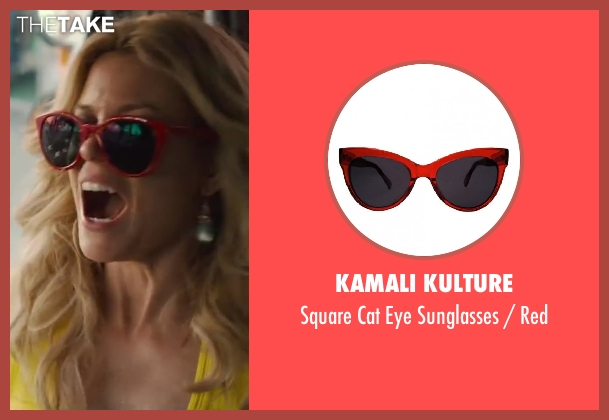 Kamali Kulture red red from Walk of Shame seen with Elizabeth Banks (Meghan Miles)