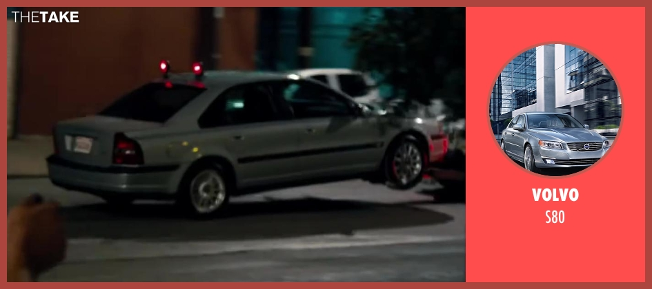 Volvo s80 from Walk of Shame seen with Elizabeth Banks (Meghan Miles)