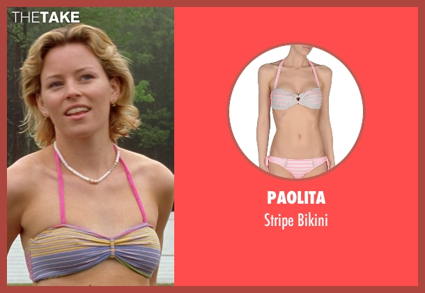 Paolita pink bikini from Wet Hot American Summer seen with Elizabeth Banks (Lindsay)