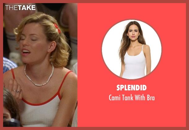 Splendid white bra from Wet Hot American Summer seen with Elizabeth Banks (Lindsay)