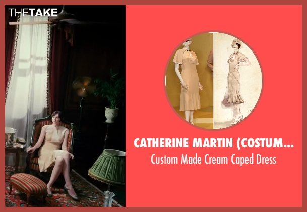 Catherine Martin (Costume Designer) dress from The Great Gatsby seen with Elizabeth Debicki (Jordan Baker)