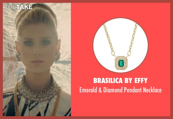 Brasilica by EFFY gold necklace from The Man from U.N.C.L.E. seen with Elizabeth Debicki (Victoria Vinciguerra)