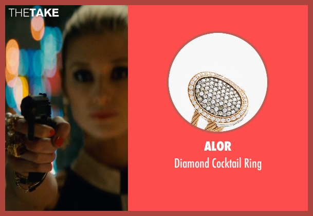Alor gold ring from The Man from U.N.C.L.E. seen with Elizabeth Debicki (Victoria Vinciguerra)