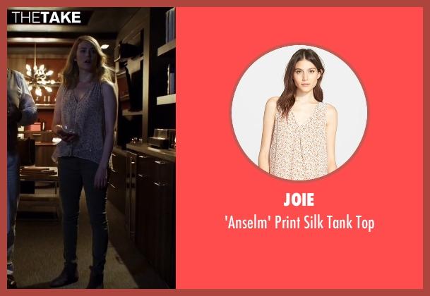 Joie beige top from The Blacklist seen with Elizabeth Keen (Megan Boone)