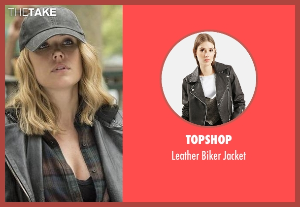 Topshop black jacket from The Blacklist seen with Elizabeth Keen (Megan Boone)