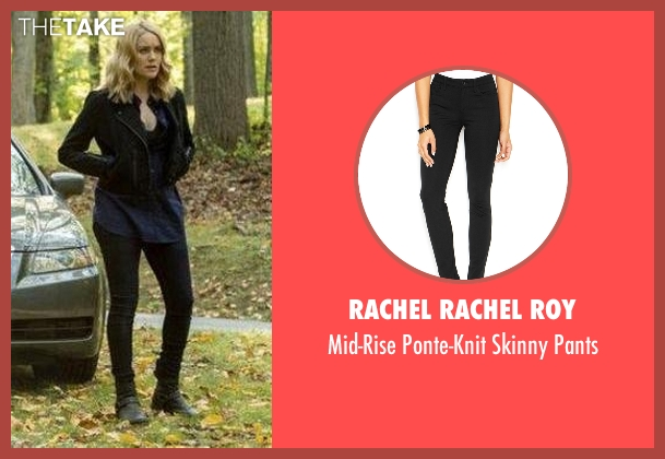 Rachel Rachel Roy black pants from The Blacklist seen with Elizabeth Keen (Megan Boone)