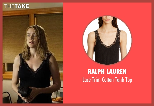 Ralph Lauren black top from The Blacklist seen with Elizabeth Keen (Megan Boone)