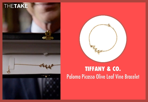 Tiffany & Co. gold bracelet from Scandal seen with Elizabeth North (Portia de Rossi)